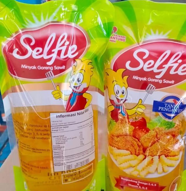 Minyak Goreng Selfi 1 liter dan 2 liter