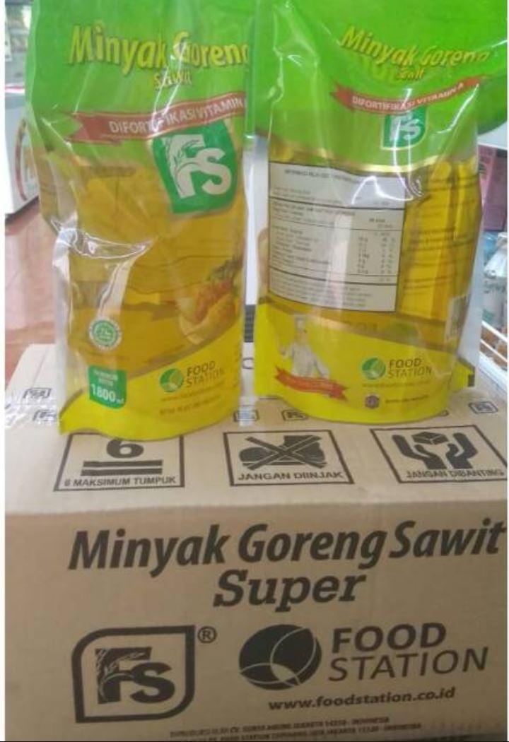 Minyak goreng FS 1800ml Carton