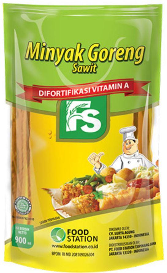 Minyak goreng FS 900ml