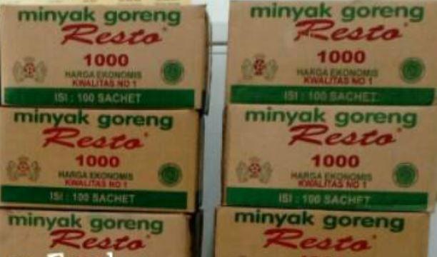 Minyak goreng Resto 1000ml carton